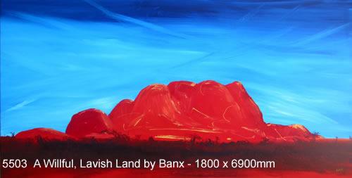 A Wilful, Lavish Land MC5503 by Banx