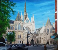 The Royal Courts of Justice by Banx MC6462