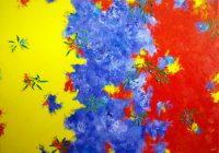 Wattle, Jacaranda, Poinsettia 3 by Banx MC5935