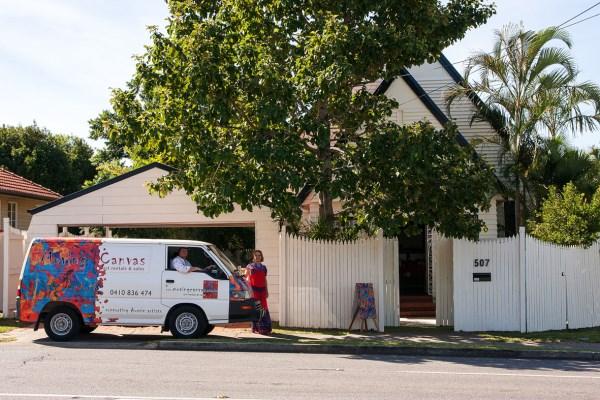 Moving Canvas Art Gallery - 507 Stafford Road, Stafford, Brisbane, Australia