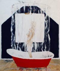 Red Bath Tub by Banx MC6069