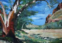 Where the River Runs Dry - Hale River - Ruby Gap 2013 by Banx MC6599