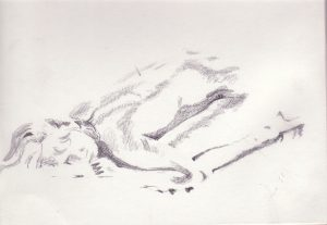 Reclining Nude by Banx