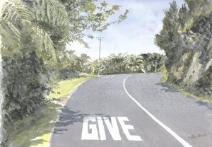 Way Give, Titore, Russell, NZ by Banx