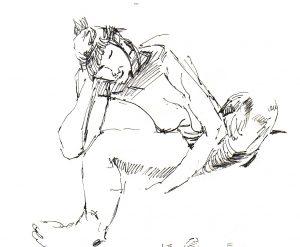 Pen Sketch 3