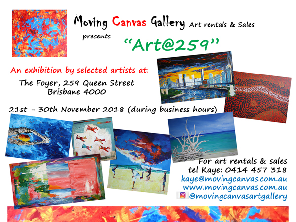Art Exhibition Invitation - Art@259 - Nov 2018